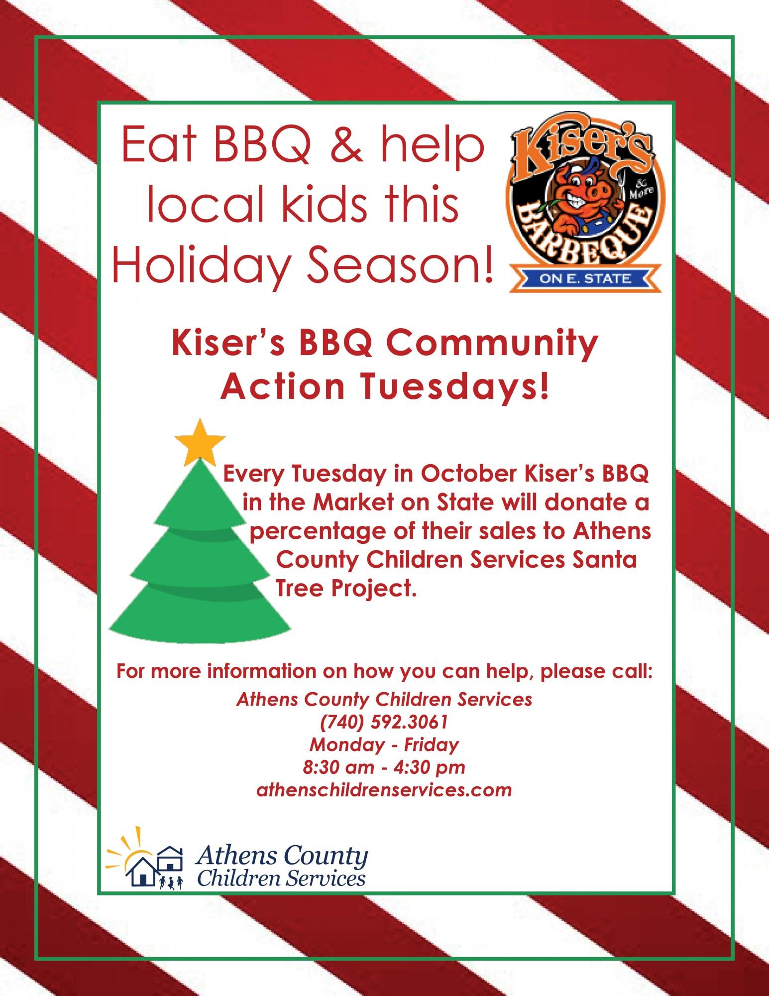 santa tree info athens county children services
